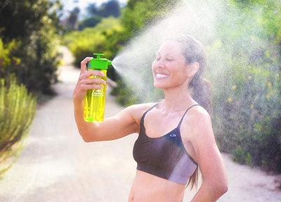 Lunatec Aquabot Hydration Spray Water Bottle LID