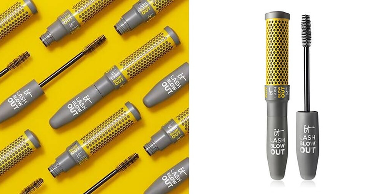 IT Cosmetics x Drybar Mascara Is A Literal Blowout For Your Lashes