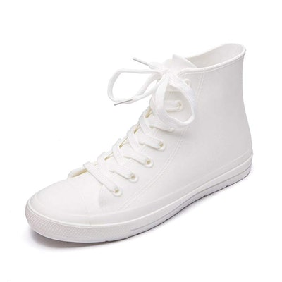 Dksuko Waterproof High-Top Rain Shoes