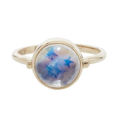 Secret Star Moonstone Ring