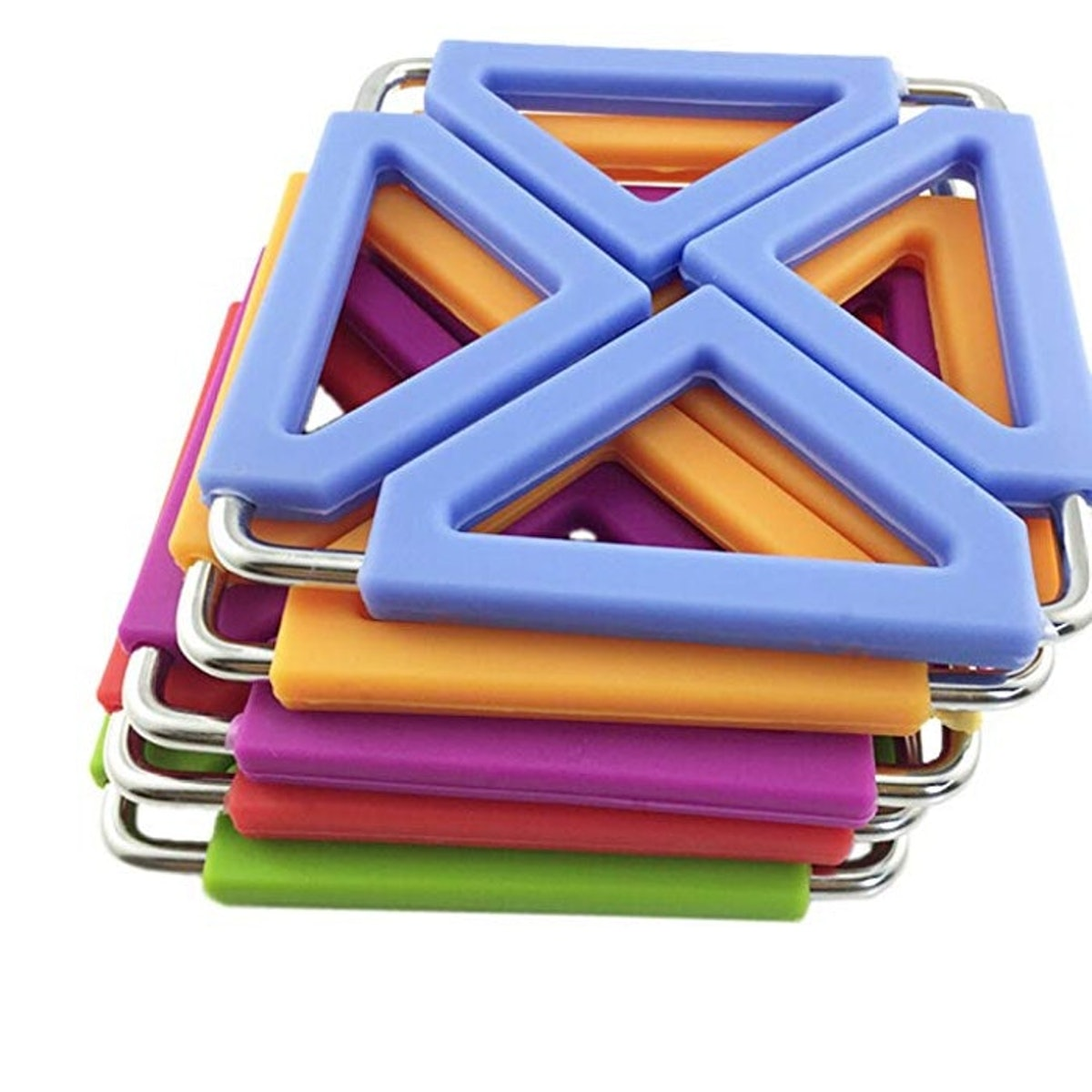 SumDirect Silicone and Stainless Steel Hot Pot Holder (5-Pack)