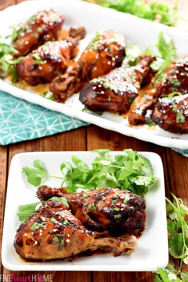 slow cooker sweet chili drumsticks