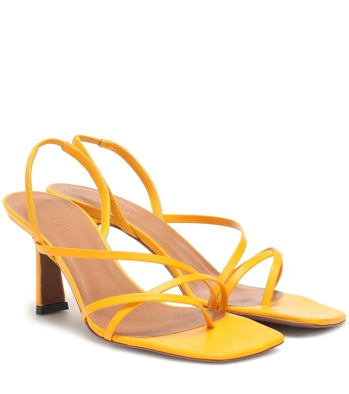 Esmeralda Leather Sandals