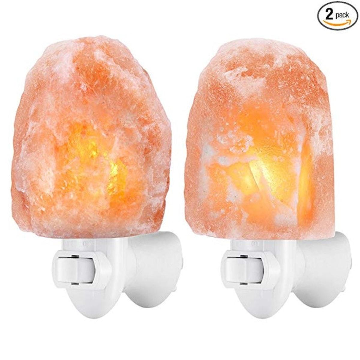 AMIR Plug-In Salt Lamp (2-Pack)