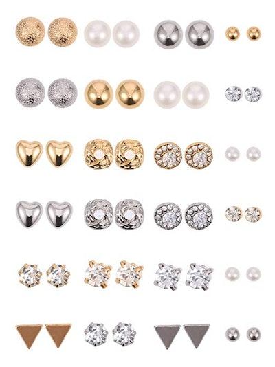 BBTO Stud Earring Set (24 Pairs)