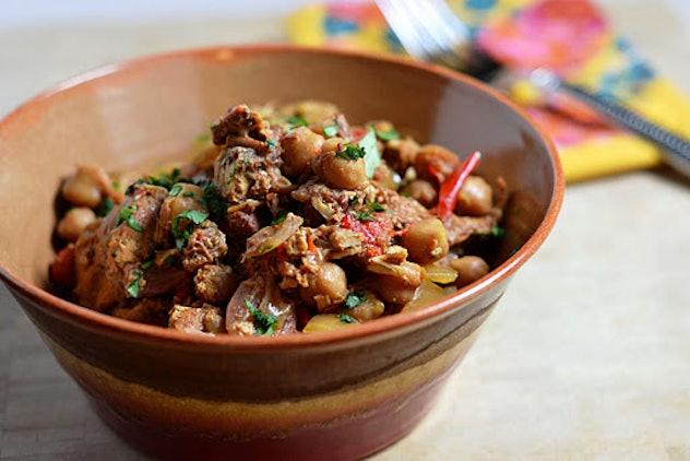 crock pot moroccan chicken