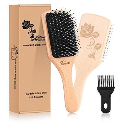 Bsisme Boar Bristle Hair Brush