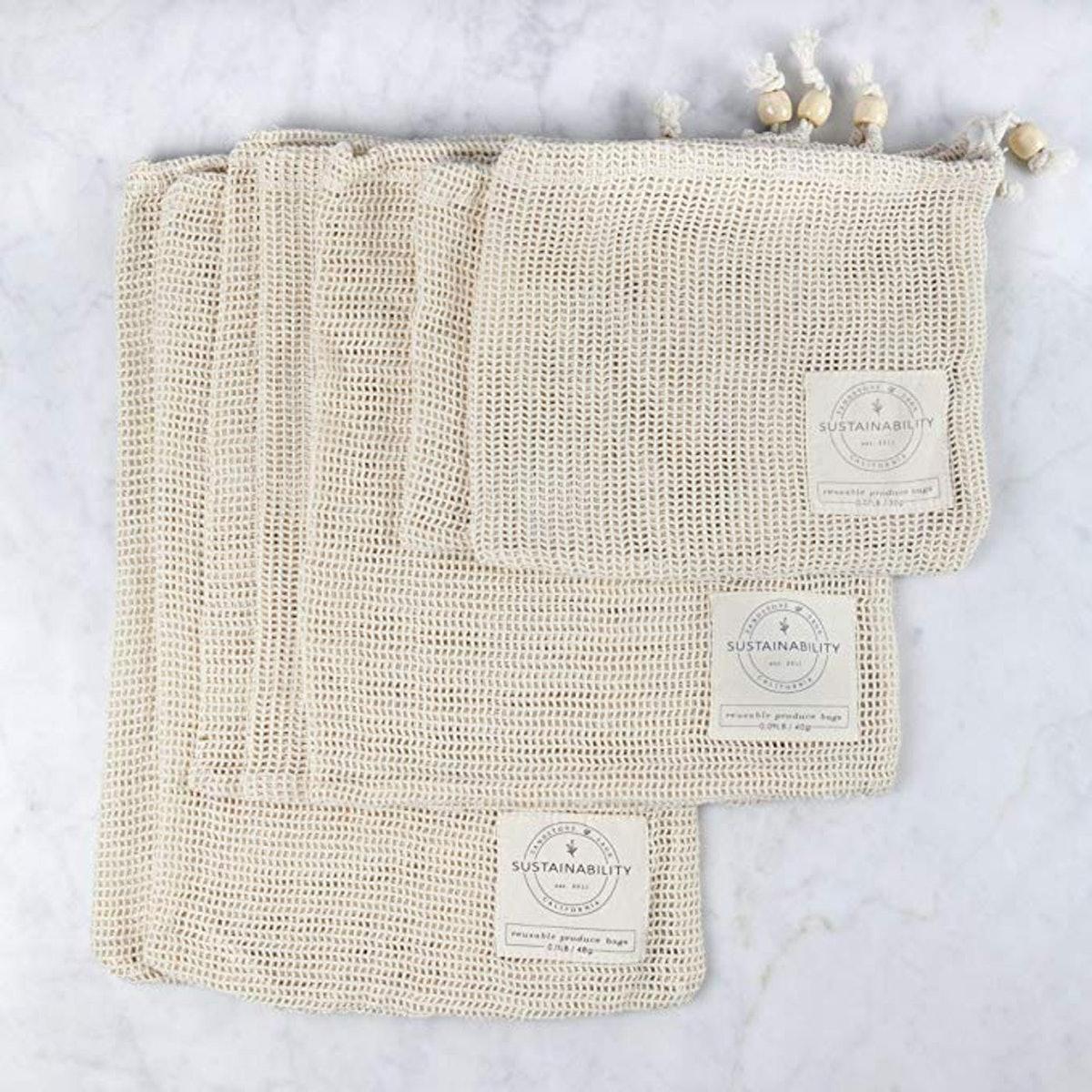 Sandstone & Sage Reusable Produce Bags (7-Pack)