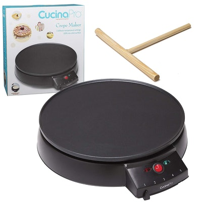 CucinaPro Non-Stick Electric Crepe Pan (12-Inch)