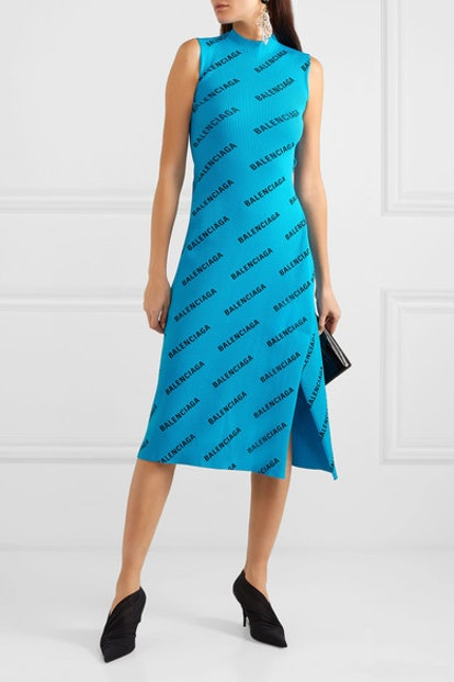 Wrap-Effect Dress