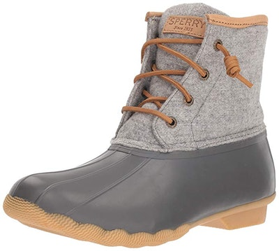 Sperry Women's Saltwater Wool Embossed Rain Boot