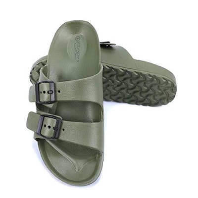 Seranoma Women's Comfort Double Buckle Sandal
