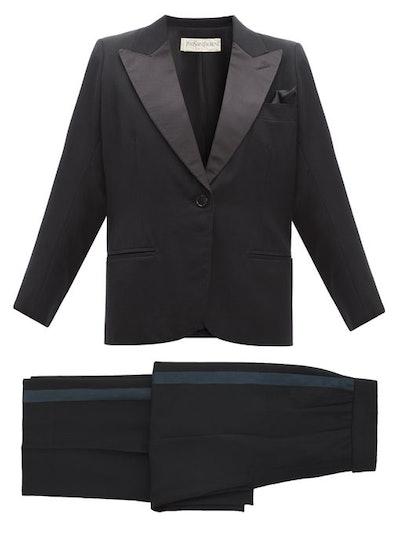 YSL 1991 Le Smoking Three-Piece Suit