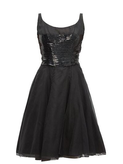Christian Dior 1961 Haute Couture Chiffon Dress