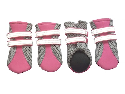 LONSUNEER Puppy Daily Soft Sole Mesh Boots