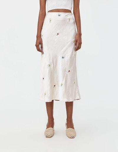 Farrow Marie Embroidered Skirt