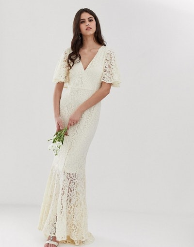Y.A.S Wedding Lace Fishtail Dress