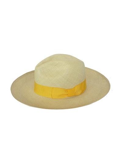 Premium Panama Hat With Italian Bow