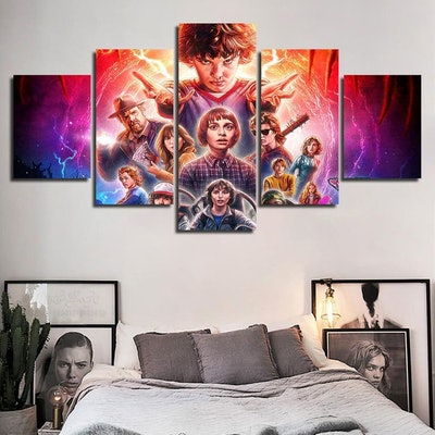 Modular TV Series Canvas Painting