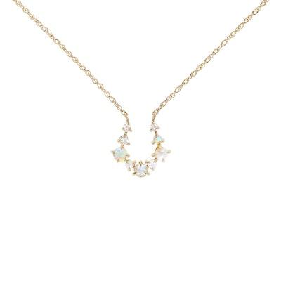 Unicorn Horseshoe Necklace