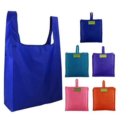 BeeGreen Reusable Grocery Bags (5-Pack)