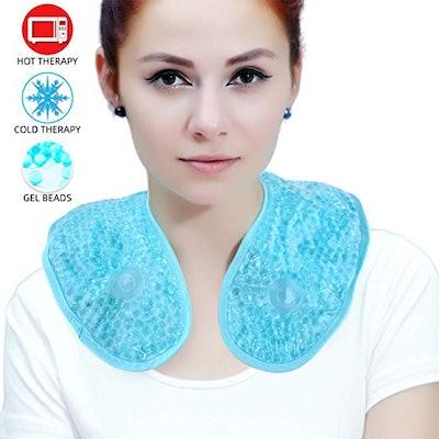 Ice Packs Neck Pillow
