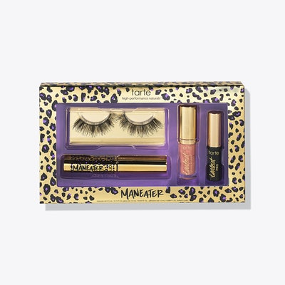 limited-edition maneater makeover lash & lip set