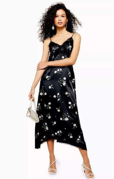 Daisy Lace Slip Dress