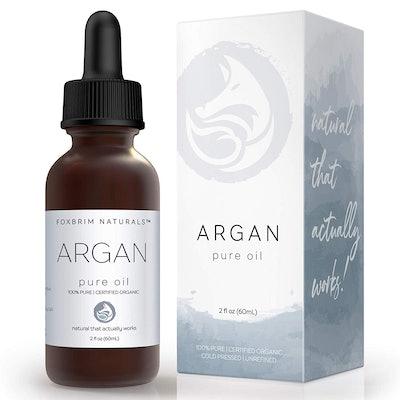 Foxbrim Pure Organic Argan Oil, 2 Fl. Oz.