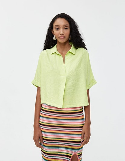 Which We Want Maddie Short Sleeve Top