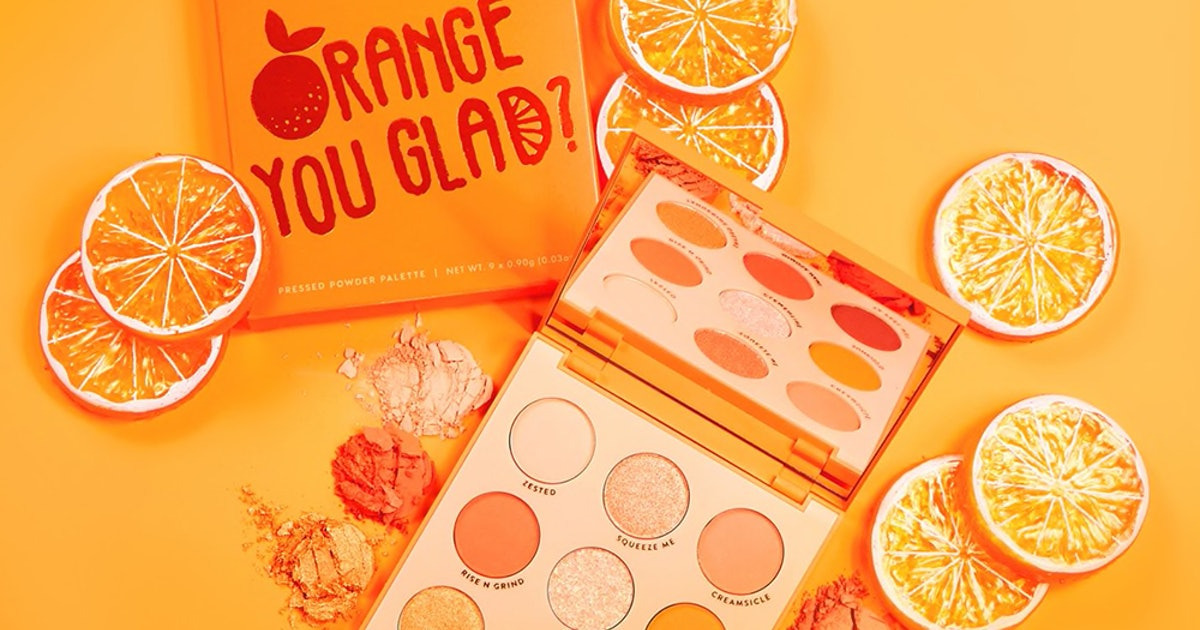 ColourPop's New Orange Collection Will Breathe Some Fresh-Squeezed Life Into Your Summer Glam