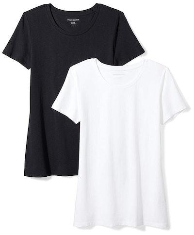 Amazon Essentials Moisture-Wicking Crewneck T-Shirt (2 Pack)