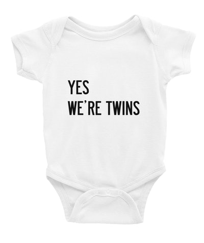 Yes, We're Twins Bodysuit