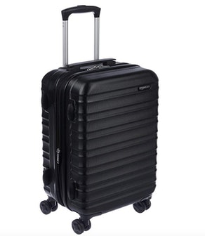 AmazonBasics Hardside Spinner Carry-On Luggage (20-Inch)