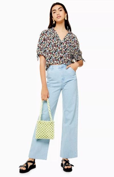 Bleach Trouser Style Jeans
