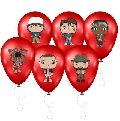 Stranger Things Inspired Balloon Stickers