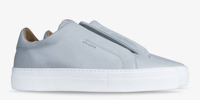 Clean 360 Laceless Light Gray Leather