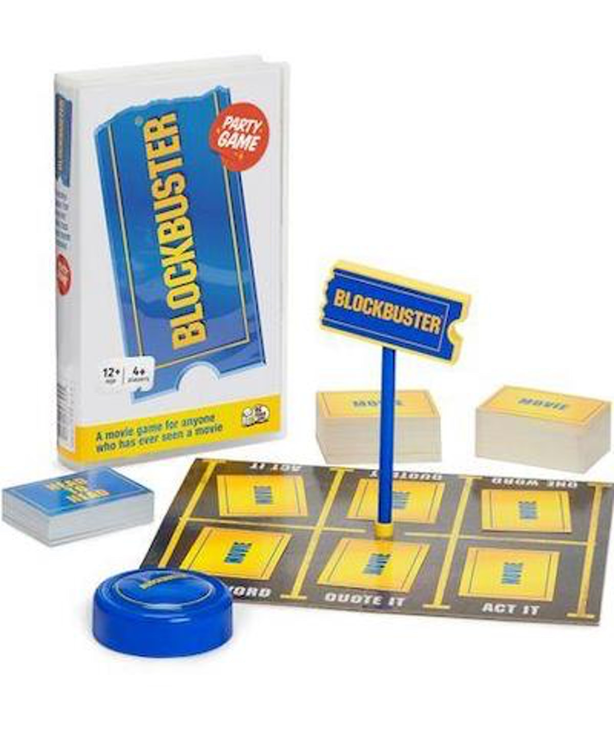 The Blockbuster Party Game