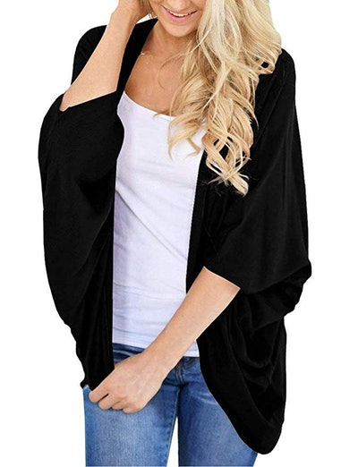 BB&KK Long Sleeve Open Front Cardigan