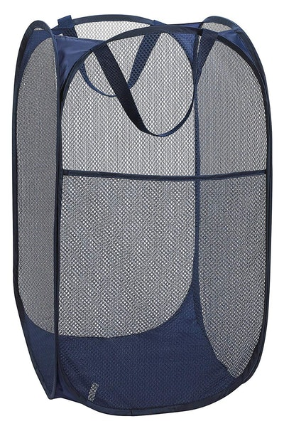Handy Laundry Mesh Pop-Up Laundry Hamper