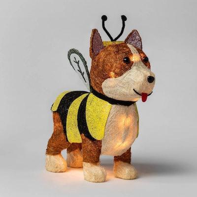 Incandescent Sisal Corgi Dog Halloween Silhouette Light - Hyde & EEK! Boutique™