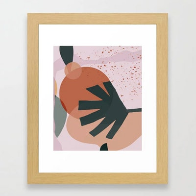 02 Framed Art Print by Mina Mikhael