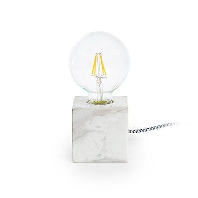 Flashcube White Table Lamp