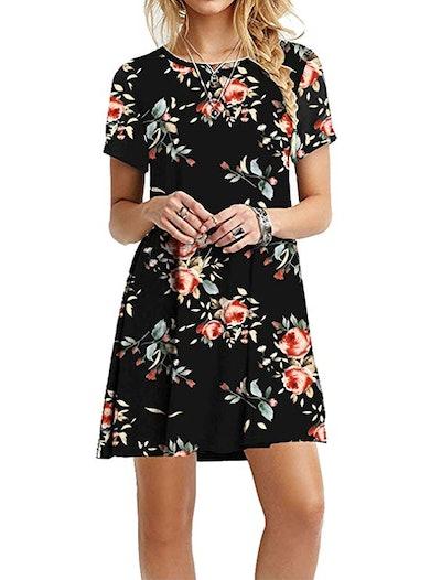 MOLERANI Plain T-Shirt Dress
