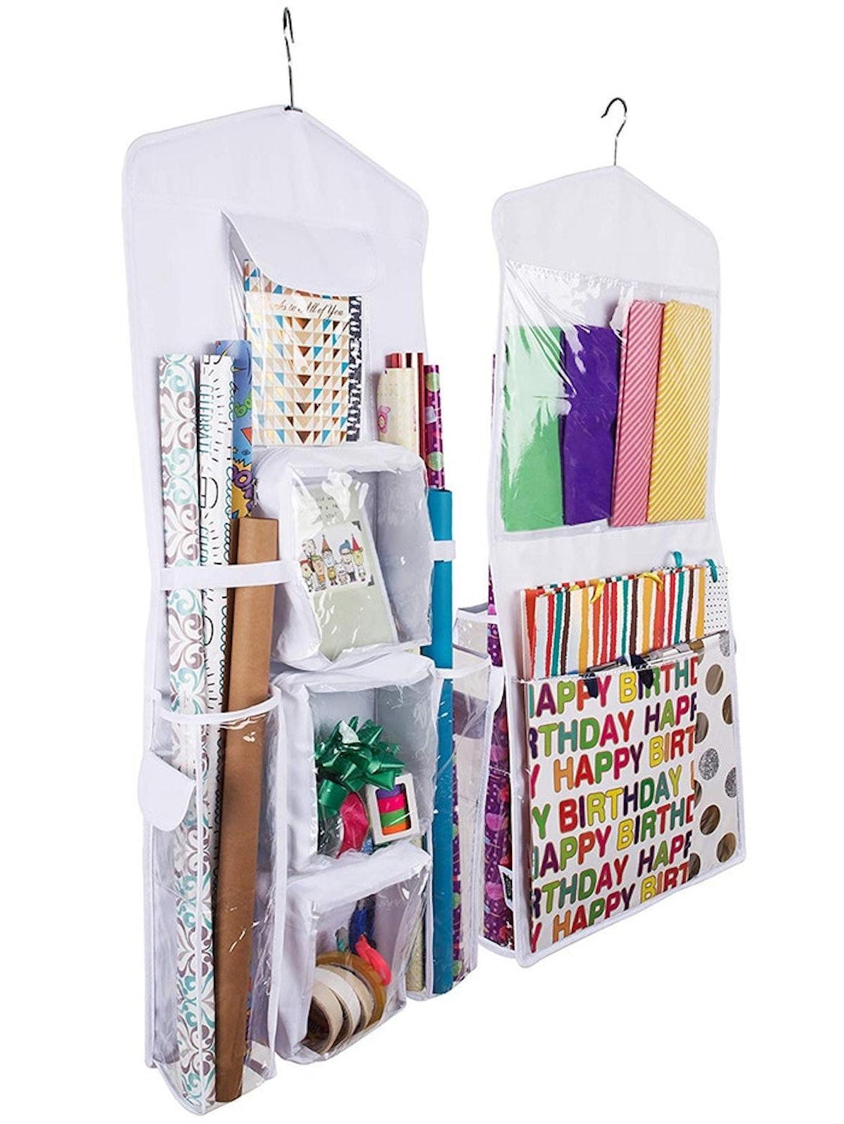 Regal Bazaar Hanging Gift Wrap Organizer