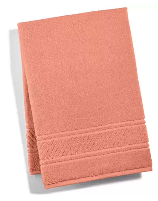 Martha Stewart Collection, Spa Bath Towel in Melon