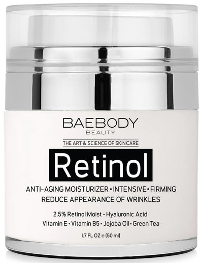 Baebody Retinol Moisturizer for Face and Eyes