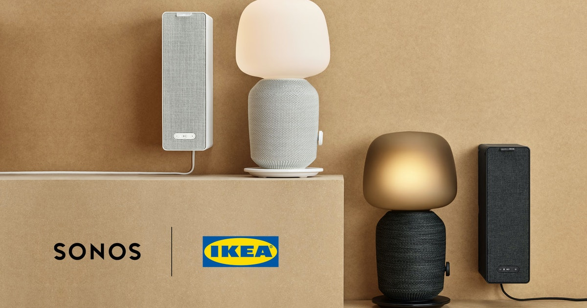 Ikea and Sonos have teamed up to release speakers that double as furniture
