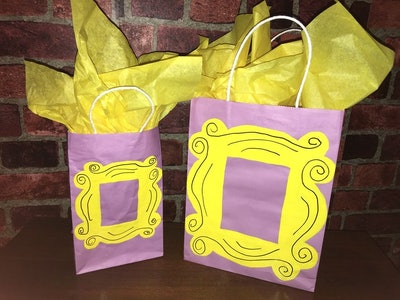 Friends TV Show Inspired Treat or Gift Bags