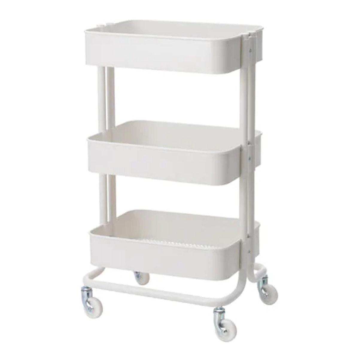 RÅSKOG Utility cart, white